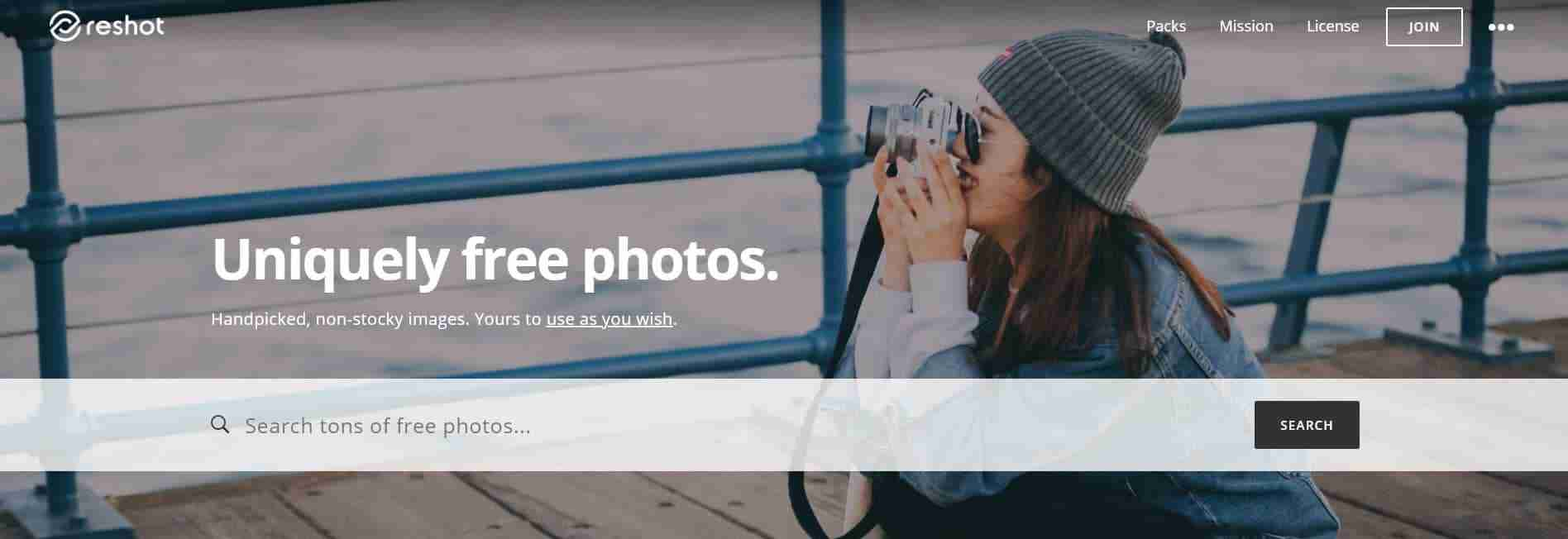 Reshot: Uniquely Free Photos