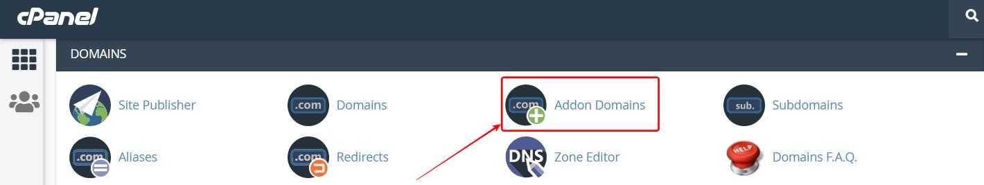 Click Addon Domains