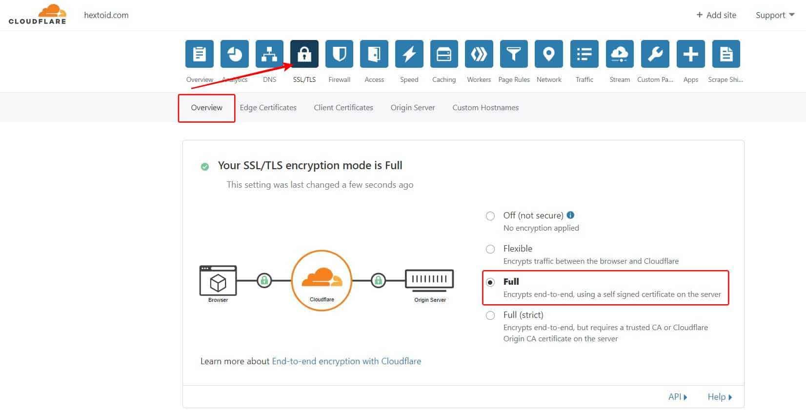 Enable SSL & HTTPS